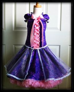 Charlotte-Rose Princess dress PDF pattern: I bought this pattern- disappointed that there weren't pattern pieces, just a ton(!) of measurements of what to cut and no specifications of how much material is needed overall to make the dress.  I haven't made it yet, so I don't know how the pattern is to follow.