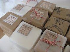 Bobbins and Balms: Soap Packaging