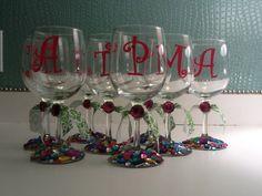 girl's weekend glasses.