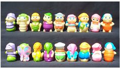 Glo Friends - I had the 2nd one from the left! I'm sure I still have it somewhere. :)