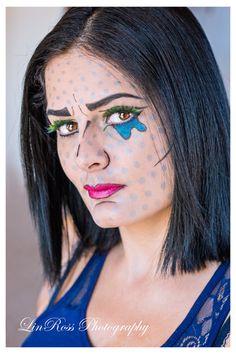 #Halloween #Makeup #Comicbook #CharacterMakeup www.vikkitoria.com