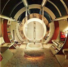 1970s interior design bathroom