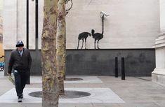 Banksy se pone las pilas : Distorsion Urbana