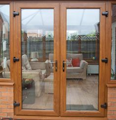 PVC Grey French doors with sidelights : All colours and sizes ...