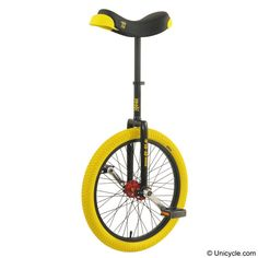A mid range freestyle unicycle, now with ISIS hub and cranks and the new Qu-Ax flat-crown freestyle frame with grip-tape. Description from unicycle.uk.com. I searched for this on bing.com/images
