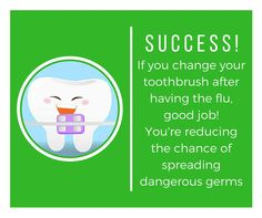 Don't forget to toss your toothbrush! #teethcaring