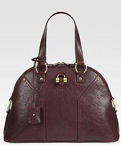 Yves Saint Laurent YSL Large Muse Handbag