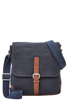 Fossil 'Davis' Canvas Messenger Bag available at #Nordstrom