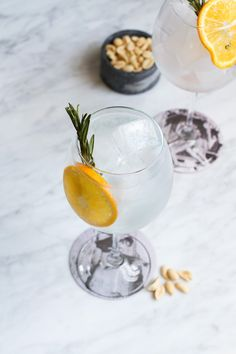 Pineapple Rosemary Spritzer | Oleander and Palm | Cocktails and Pretty ...