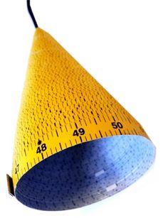 Centimeter Lampe Idee