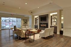 Leviton living room
