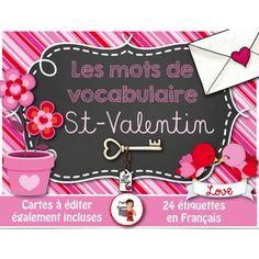 Mots-étiquettes/ST-VALENTIN