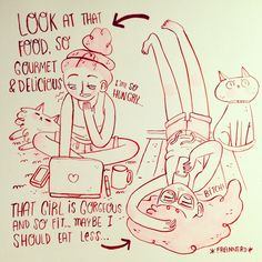 como me revejo nisto :D *girls* Illustration by Fran Meneses Tumblr's never-ending circle