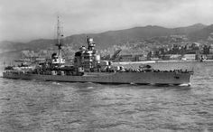 Gorizia was an Italian Zara class heavy cruiser, which served in the Regia Marina during World War II. The ship was named after the city of Gorizia. She was the only surviving cruiser of her class after the Battle of Cape Matapan in 1941.