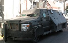 Mexican cartel vehicle