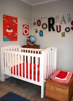 Joshua & Finn's Slightly Retro Room