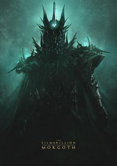 For all things Tolkien, Lord of The Rings, and The Hobbit . Das Silmarillion, Character Art, Character Design, John Howe, Morgoth, Arte Horror, Jrr Tolkien, Dark Lord, Fantasy Artwork