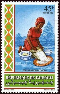 DJIBOUTI: Traditions. Cooking (1992)   US $220.00