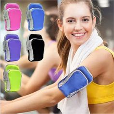 Quality Universal Double pockets Arm Sport Bag Case Pouch For iPhone Samsung LG Sony Mobile Phone Portable Running Sport Arm Bag #SonyMobilePhones