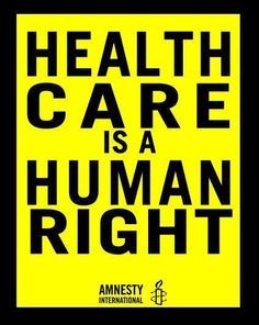 Universal health care is a 'human right,' WHO director says