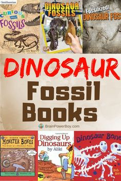 This dinosaur book list is filled with cool dinosaur fossil books your kids will totally dig!