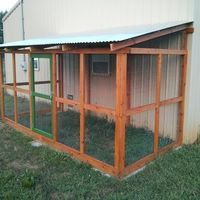 Building A DIY Chicken Coop If you've never had a flock of chickens and are considering it, then you might actually enjoy the process. It can be a lot of fun to raise chickens but good planning ahead of building your chicken coop w Easy Chicken Coop, Portable Chicken Coop, Chicken Pen, Chicken Coop Designs, Backyard Chicken Coops, Chickens Backyard, Small Chicken Coops, Backyard Ideas, Duck Coop