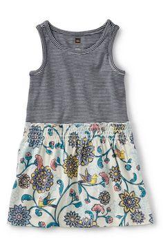 Tea Collection 'Birds Landing' Sleeveless Dress (Toddler Girls, Little Girls & Big Girls) available at #Nordstrom