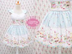 He encontrado este interesante anuncio de Etsy en https://www.etsy.com/es/listing/159723416/blue-lolita-dress-alice-in-cake-tart
