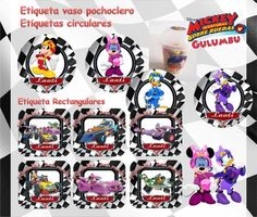 Kit Imprimible Mickey Aventuras Sobre Ruedas Candy Bar Edita - $ 55,81