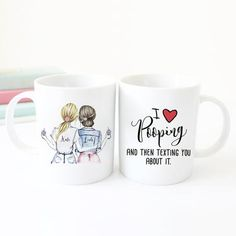 Gift for girlfriend | Personalized gift for friend coffee mug