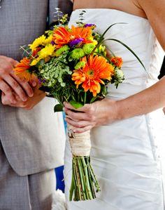WeddingChannel Galleries: Wildflower Bridal Bouquet