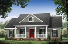 ePlans Colonial House Plan – Colonial Elegance – 1951 Square Feet and 3 Bedrooms from ePlans – House Plan Code HWEPL76713