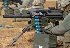 MK19 automatic grenade launcher