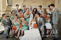 3 fun wedding photo ideas. What a great keepsake to have from your big day!