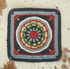 #Crochet #block #AfricanExpressions Harmony Yarn 100% #Merino #Wool.  #SamilNaturalFibres