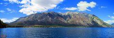 Cerro Pirque desde el Lago epuyen