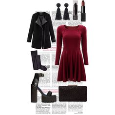 A fashion look from November 2014 featuring Chicnova Fashion coats, Sperry Top-Sider tights and Jeffrey Campbell sandals. Browse and shop related looks.