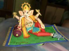 Quilled Ganesha