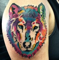 130+ Best Wolf Tattoos for Men (2021) - Howling, Lone, Tribal Designs Animal Tattoos For Men, Wolf Tattoos Men, Tribal Wolf Tattoo, Tattoos For Guys, Tribal Designs, Wolves, Watercolor Tattoo, Animals, Tribal Drawings
