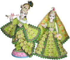 Marble Radha Krishna White