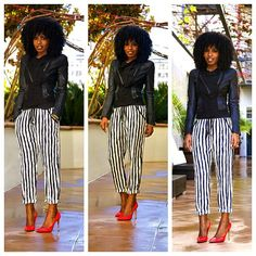 Today's Post! White stripes...
