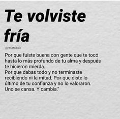Real Life Quotes, Sad Love Quotes, True Quotes, Motivational Quotes, Funny Quotes, Spanish Inspirational Quotes, Spanish Quotes, Sad Texts, Amor Quotes