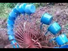 Part 1-3 Water wheel 150 watts, Low water volume, Hobo, Minalabac, Philippines renewable free energy - YouTube