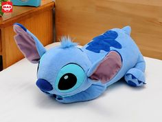 stitch pillow Peluche Stitch, Lilo And Stitch, Stitches, Pillows, Plushies, Lelo And Stich, Stitching, Cushion, Throw Pillow