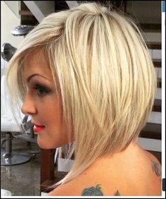 Short asymmetrical bobs hairstyle haircut 50 | Short asymmetrical ... #Frisuren #HairStyles 30+ Amazing Asymmetrical Bobs Hairstyles 2018
