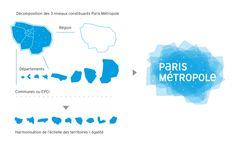 Identité Visuelle de Paris Métropole - Graphéine - Agence de communication Paris Lyon
