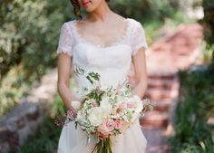 Desired and Inspired: Romantic Garden Wedding