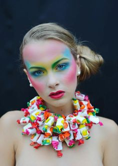 Colors & candies make-up    mua: Shahbana Khan  photo: Adelaide d'Hoop Photography