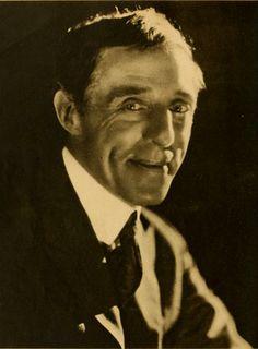 D.W. Griffith - rare smile