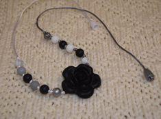 silikonové korálky - náhrdelník